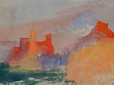 Joseph Mallord William Turner, 'Coastal Terrain and Buildings, ?South of France or Italy' (J. Turner: Sketchbooks, Drawings and Watercolours) Joseph Mallord William Turner, Aix En Provence, Turner Watercolors, Gouache, Turner Contemporary, Turner Painting, Art Gallery, Jackson's Art, Virtual Art