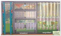 Curtains by Christine1000 at Sims Marktplatz
