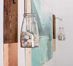 Give old wood new life by upcycling it into a modern rustic wall hanging! This project is super easy and I love mix of copper and wood.