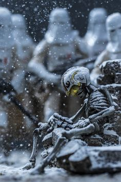 10 Frames Per Second - The Toy Photography Of Johnny Wu - Star Wars - Sandwich Recipes Star Wars Pictures, Star Wars Images, Star Wars Fan Art, Figure Photography, Toys Photography, Johnny Wu, Arte Alien, Star Wars Models, Star Wars Wallpaper