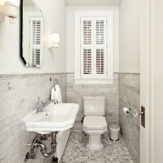 Deco cloakroom on pinterest 1930s bathroom bathroom for 1930 bathroom design ideas