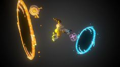 Friends Forever - Portal 2 by nomadking