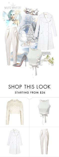 """""""Two turtle doves"""" by jaymagic ❤ liked on Polyvore featuring DKNY, Michael Kors, Delpozo, Christian Louboutin and fallseason"""