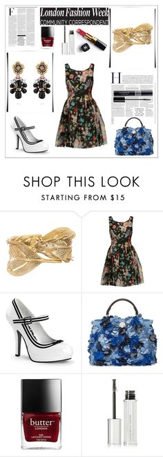 """""""London Fashion"""" by sitkajewels on Polyvore featuring Chloe + Isabel, Dolce&Gabbana, Pinup Couture, Fendi, Nicki Minaj, Chanel, Givenchy and Christian Dior"""