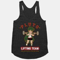 Pluto Lifting Team | T-Shirts, Tank Tops, Sweatshirts and Hoodies | HUMAN