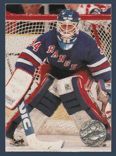 John Vanbiesbrouck # PC 1 - 1991-92 NHL Pro Set Platinum Hockey PC Insert