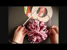 TRICO ve CROCHET-madonna-mine: [KOLAY] Ponponlarımı yapmak nasıl