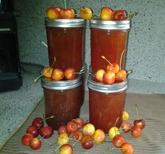 cherry-limeade concentrate canning recipe ○ via canning homemade