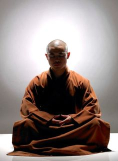 座禅 Zazen: meditation and contemplation based on one of the sects of Buddhism