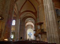 Milan (Italy): Transept of the San Simpliciano Basilica