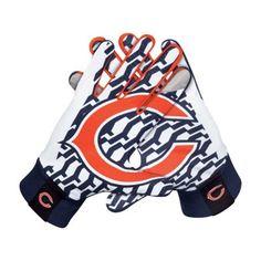 Nike Chicago Bears Stadium Gloves - Navy Blue is available now at FansEdge. Chicago Bears Stadium, Chi Bears, Nfc North, Tiffany Blue Nikes, Bear Shop, Nike Nfl, Nike Basketball, Football Hall Of Fame, Football Gloves
