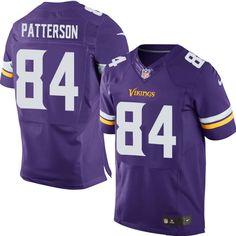 Men s Andrew Sendejo Elite Purple Nike Jersey  NFL Minnesota Vikings Home e3e01ffc1