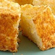 Two-Ingredient Pineapple Angel Food Cake recipe from Betty Crocker