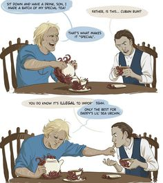 Assassins Creed humor edward and haytham kenway