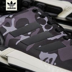 the latest 21fe3 073b3 Standby for this release - Adidas Originals ZX Flux Sneakersnstuff SMU Pattern  pack - Black Camo