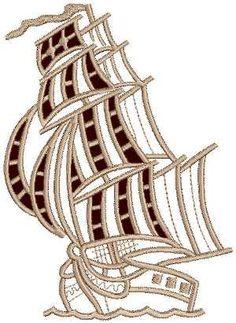 Advanced Embroidery Designs - Brigantine