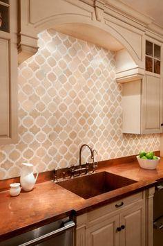 Kips Bay Kitchen: Toledo Classique in Crema Marfil and Calacatta Gold  (Cultivate.com)