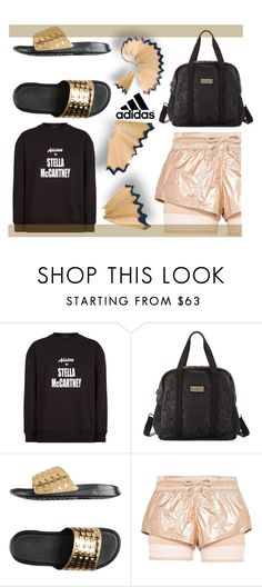 """""""Stella X Adidas """" by julianamourning ❤ liked on Polyvore featuring adidas and NIKE"""