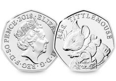 This features the Emma Noble design of Mrs Tittlemouse, issued by The Royal Mint in This has been protectively encapsulated and certified as 50p Coin, Mint Coins, Rare Coins, Peter Rabbit, Beatrix Potter, Coin Collecting, Rice, Collections, Laughter