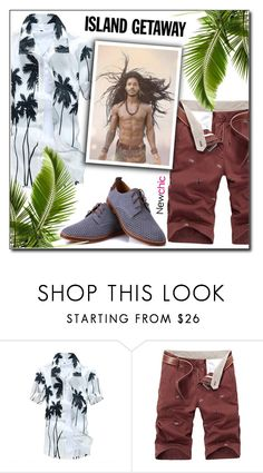 """""""Newchic (12/VII)"""" by dorinela-hamamci ❤ liked on Polyvore featuring men's fashion and menswear"""