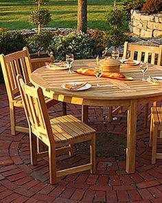 Classic Teak Side Chair | Buy from Gardener's Supply