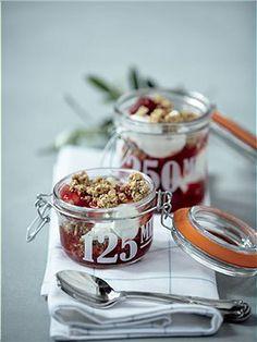 Einmachgläser Schön den Nachtisch für Gäste gedeckt...oder kleine Köstlichkeiten eingekocht? Diese Einmachgläser gibt es in drei verschieden...