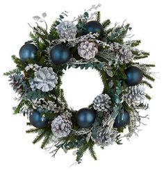 Lake Keitele Christmas Wreath