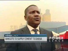 Aliko Dangote on Cement Industry in Nigeria