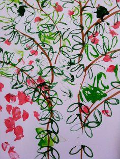 Toiletrulletryk - et forårstræ
