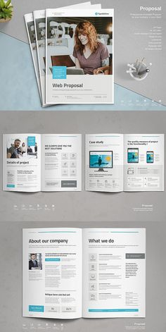 This is a modern and powerful template for a Proposal. 24 pages possibility of creating many unique spreads. Features - Adobe InDesign and higher) Medical Brochure, Corporate Brochure, Business Brochure, Brochure Design, Brochure Template, Flyer Design, Business Proposal Template, Proposal Templates, Brand Guidelines