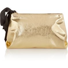 c204929a169f Clare V Mimi metallic leather clutch (1