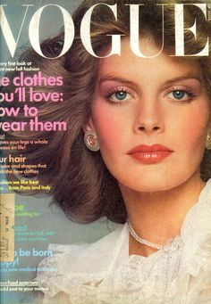Rene Russo  -  Vogue July 1974 by Scavullo