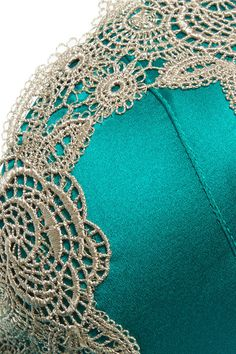 42b4e3df3515e Turquoise stretch-silk satin Hook fastenings at back 91% silk