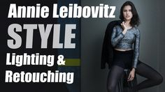 Annie Leibovitz Style Lighting Technique & Retouching Tips using StyleMyPic… Photography Lighting Techniques, Photography Lighting Setup, Lighting Setups, Photography Tutorials, Light Photography, Photography Tips, Studio Lighting, Street Photography, Landscape Photography