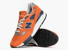 The New Balance 998 Made in USA Orange Is Available Now