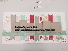 I spent today lovingly scrapbooking with the new Close to My Heart Sugar Rush. I am super happy with the results.. now to get my pics in, t...