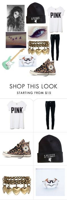 """""""""""Oh Calamity"""" by All Time Low"""" by pebble2000 ❤ liked on Polyvore featuring Victoria's Secret, Dsquared2 and Jamie Jewellery"""