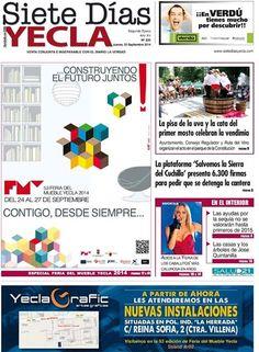 ¿has visto ya la portada del siete dias #yecla ?