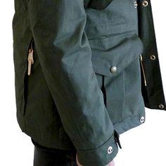 My Life Jacket Woman Cotton- Green - Free Rain 6