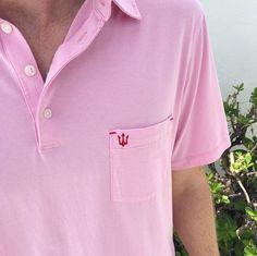 Strong Boalt Alexander Polo short sleeve in pink http://www.strongboalt.com/shop/the-alexander-polo-ss-light-pink
