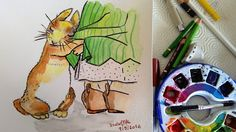 GALERIA DE PINTURAS: O coelho e a menina...