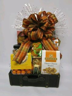 Thanksgiving thank you basket