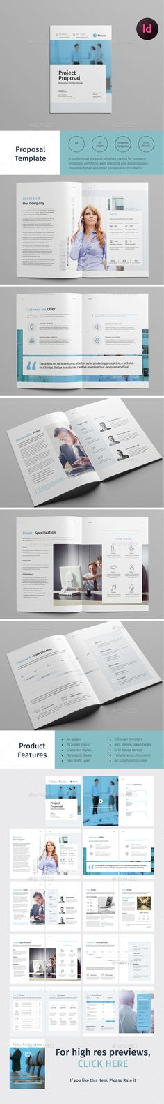 Creative Proposal Template  Proposal Templates Proposals And