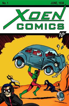 Vintage Comic Books, Vintage Comics, Action Comics 1, Dc Comics, Cartoon Art, Cartoon Characters, Comic Covers, Marvel Dc, Superman