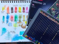 Derwent Inktense Pencil Review