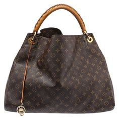 638797316ca1 Louis Vuitton Artsy Gm Monogram (29831) Brown Coated Canvas Hobo Bag