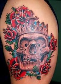SKULL TATTOOS AND MEANINGS. Great Skull Tattoo Ideas For Men And Women; Skull Tattoo Meanings And Designs