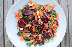 grønkål salat Pasta Salad, Ethnic Recipes, Food, Crab Pasta Salad, Essen, Meals, Yemek, Eten