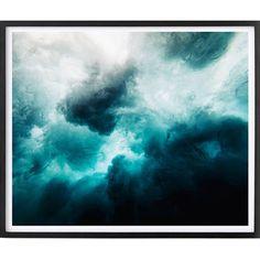 Ocean Storm Framed Print | Temple & Webster