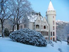 Gamlehaugen is the King's official residence in Bergen. Owned by the state and managed by western Norway regional office of the Directorate of Public Construction and Property, the building is at the disposal of the King.
